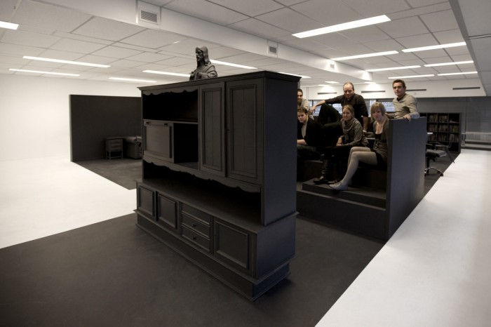 Reused Furniture next life: reused furniture sprayed dark grey - sourceyour | so